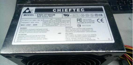 Fonte Atx 24 Pinos + Sata Chieftec Enh-0746gb 460w Pci-e