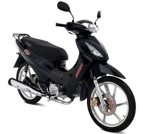 Moto Jonny Hype Scooter 125cc Zero Km - Preta