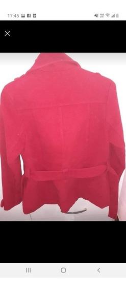 Tapado Rojo De Paño Talle 1-2