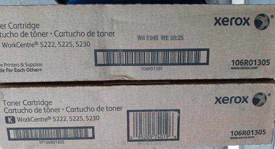 Toner Xerox 5222 / 5225 / 5230 Black 106r01305 Original