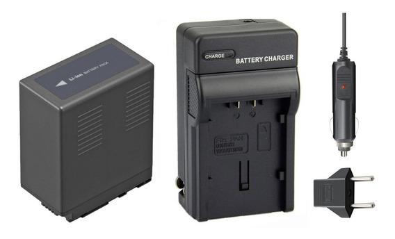 Bateria + Carregador Para Panasonic Ag-hmc73 74 80 Ag-hmc150