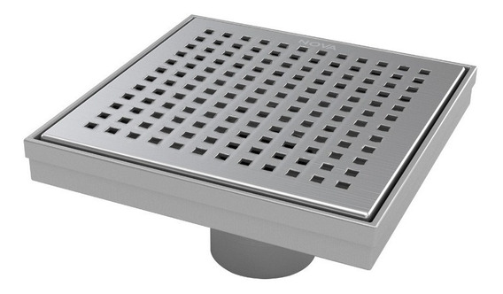 Desague Nova Aquaflow Square, Rejilla Square Dots 15x15cm