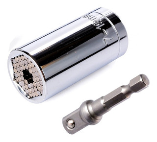 Soquete Universal Multidimensional 3/8 7-19mm + Adaptador