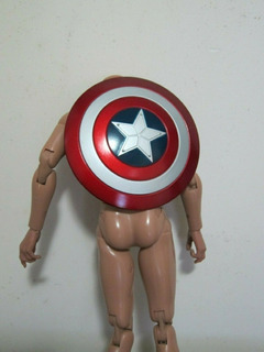 Avengers Escudo Capitan America 1/6 Entrego Ya!!!!!!!!!!!!!!