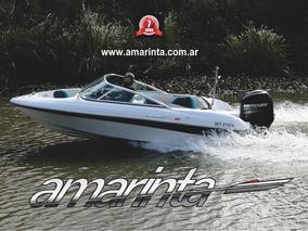 Lancha Amarinta 535 Con Mercury 115 Hp 4t 2018 Nueva 0 Hs