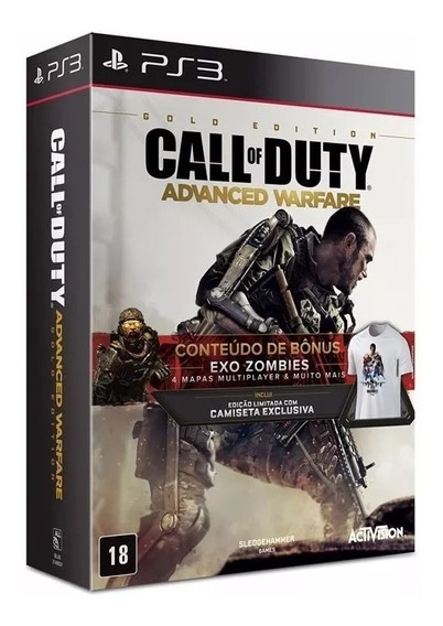 Call Of Duty Advanced Warfare Gold Ed. Ps3 Lacrado Br Rj