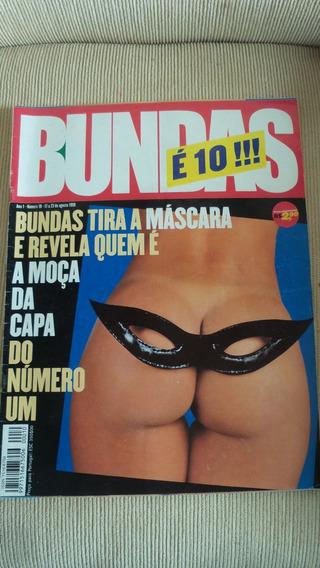Revista Bundas Nº 10 De Agosto 1999 - Raridade
