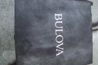 Caja Estuche Reloj Bulova