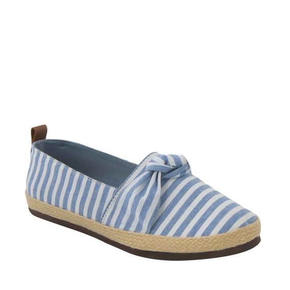 Zapato Casual Vi Line 0787 Azul Textil Lona/ Piel Ves 186490