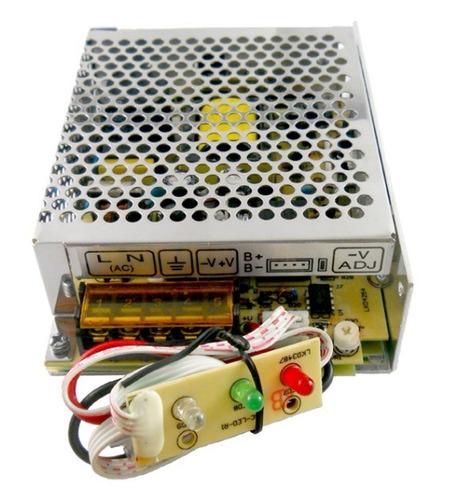 Fuente Switching Ups 12v 4,3a Gralf Con Carga A Bateria