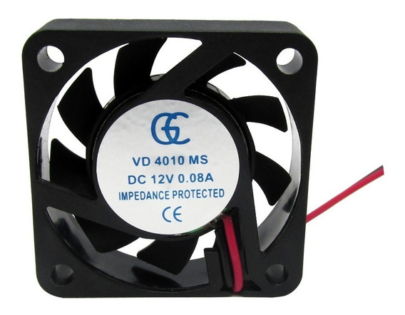 25pcs Ventilador Cooler Ventuinha Gc 40x40x10 12v Nova