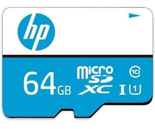 Cartão De Memória Hp 64gb + Micro Sd Classe 10, Fotos Videos