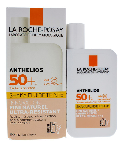 Anthelios Shaka Tintado Fluide Spf 50 Por La Roche-posay Uni