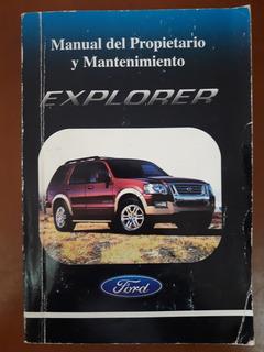 Manual De Mantenimiento Ford Explorer