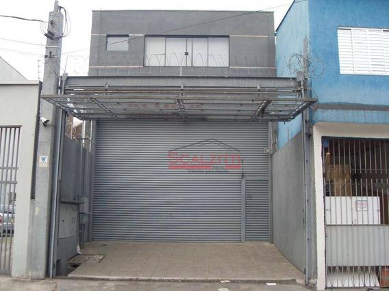 Galpão Para Alugar, 350 M² Por R$ 8.500/mês - Barra Funda - São Paulo/sp - Ga0027