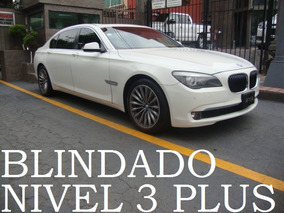 Bmw 750 Largo 2011 Blindado Nivel 3 Plus Blindaje Blindada