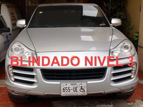 Porsche Cayenne 4.8 V8 Tiptronic S At Blindada Nivel 3 Plus