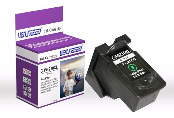 Cartucho Compatible Canon 210 Xl Negro Pg-210 Xl