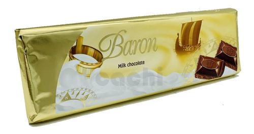 Chocolate Baron Milk Leche 300gr