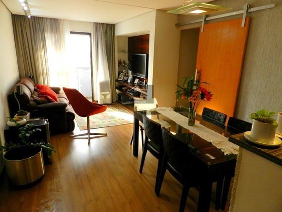 Apartamento A Venda No Bairro Vila Anglo Brasileira Em São - Ms598colina-1