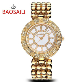 Relógio Baosaili Brand Women Watches Top Luxury Frete Grátis