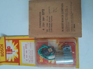 Condensador Distribuidor Bosch Vw /75 Fusca Kombi 2 Pc