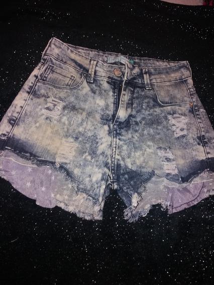 Short De Jeans Talle 24
