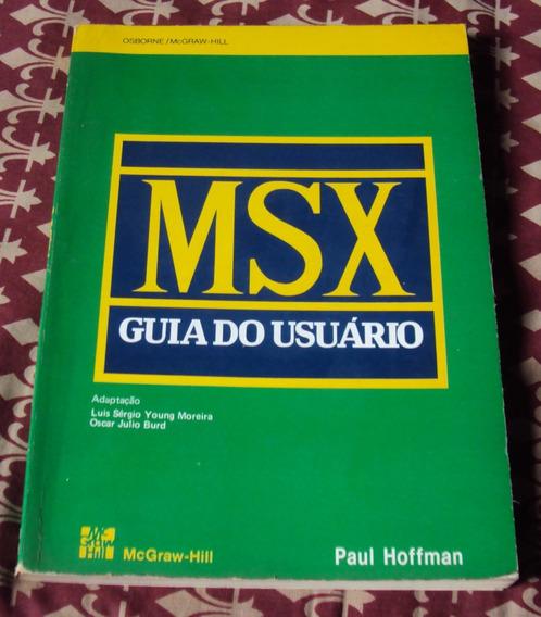 Livro Msx - Guia Do Usuário