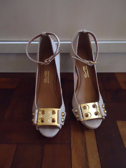Sapato Santa Lolla Spike Nude 33 Seminovo