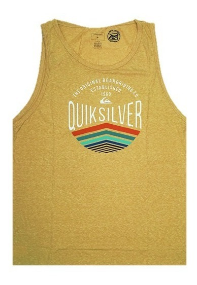 Musculosa Quiksilver Sunset Logo 2201105011 Cmbe