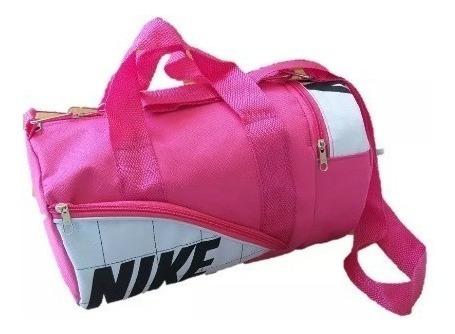 Bolsa Mala Bau Pequena Esportes Treino Academia Pink