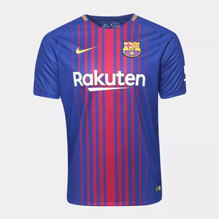 Camisa Nike Barcelona 2018 Messi 10 - Foto Real Frete Gratis