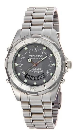 Relógio Technos Masculino Social Prova Dágua 150 M T20557/6c