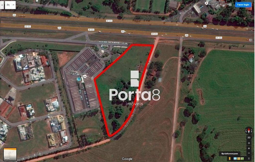 Área À Venda, 22000 M² Por R$ 9.900.000,00 - Zona Rural - Mirassol/sp - Ar0014