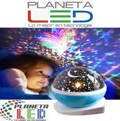 Lámpara Led Infantil Proyector De Estrellas Para Dormitorio