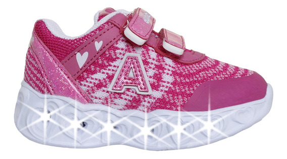Zapatillas Addnice Moda Baby Arrow Corazon Abrojo Bebe Fu/rs