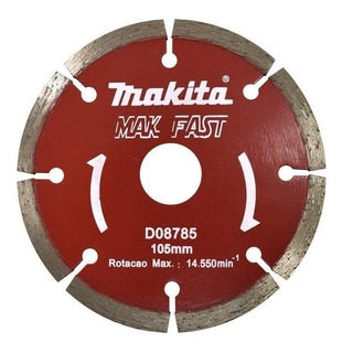 Disco Diamantado Segmentado 105mm Makita - D-08785