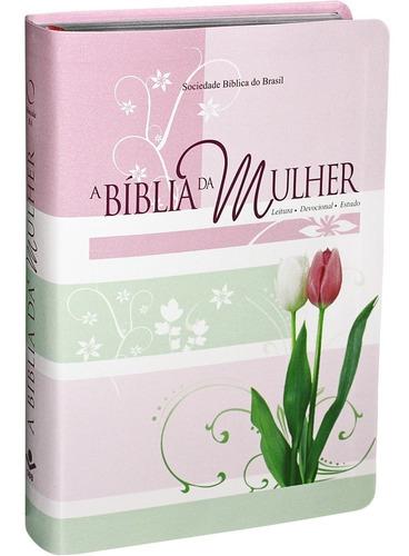 Imagem 1 de 7 de Bíblia Sagrada De Estudo Da Mulher Nova Capa Sbb