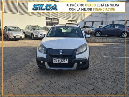 Renault Sandero Stepway Privilege 2014 Blanco 5 Puertas