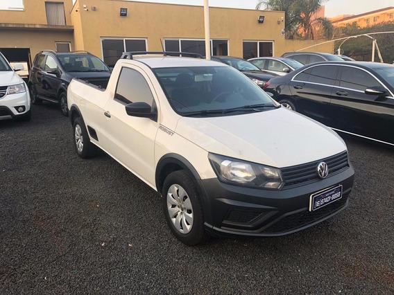 Volkswagen Saveiro Robust 1.6 Branco 2018
