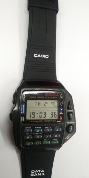 Relogio Casio Data Bank Controle Remoto Cmd 40