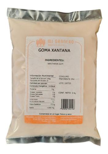 Imagen 1 de 1 de Goma Xantana 1 Kilo Sin Gluten Keto