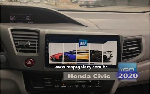 Imagem 1 de 1 de Atualização Gps Central Multtimídia Honda Civic 2020