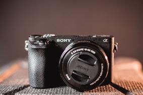 Câmera Sony Alpha 6500 + Lente 16-50 (3.5-5.6) + Carregador