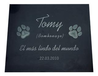 Placa Grabada Para Mascota, Diseños Personalizados. 30x15cm.