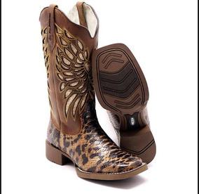Bota Texana Country Estilo Rodeio