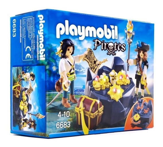 Playmobil - Escondite Del Tesoro Pirata