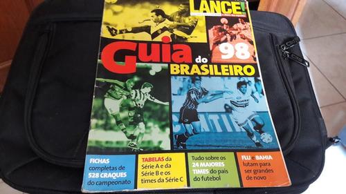 Lote Guias Do Brasileirao 1998 1999 2000 E 2001 Lance Mercado Livre