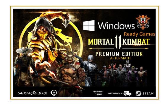 Mortal Kombat 11 Aftermath + Shao Kan - Pc
