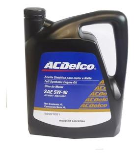 Aceite Sintetico Ac Delco 5w40 Original